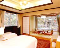 Main building Japanese-Western style guestroom